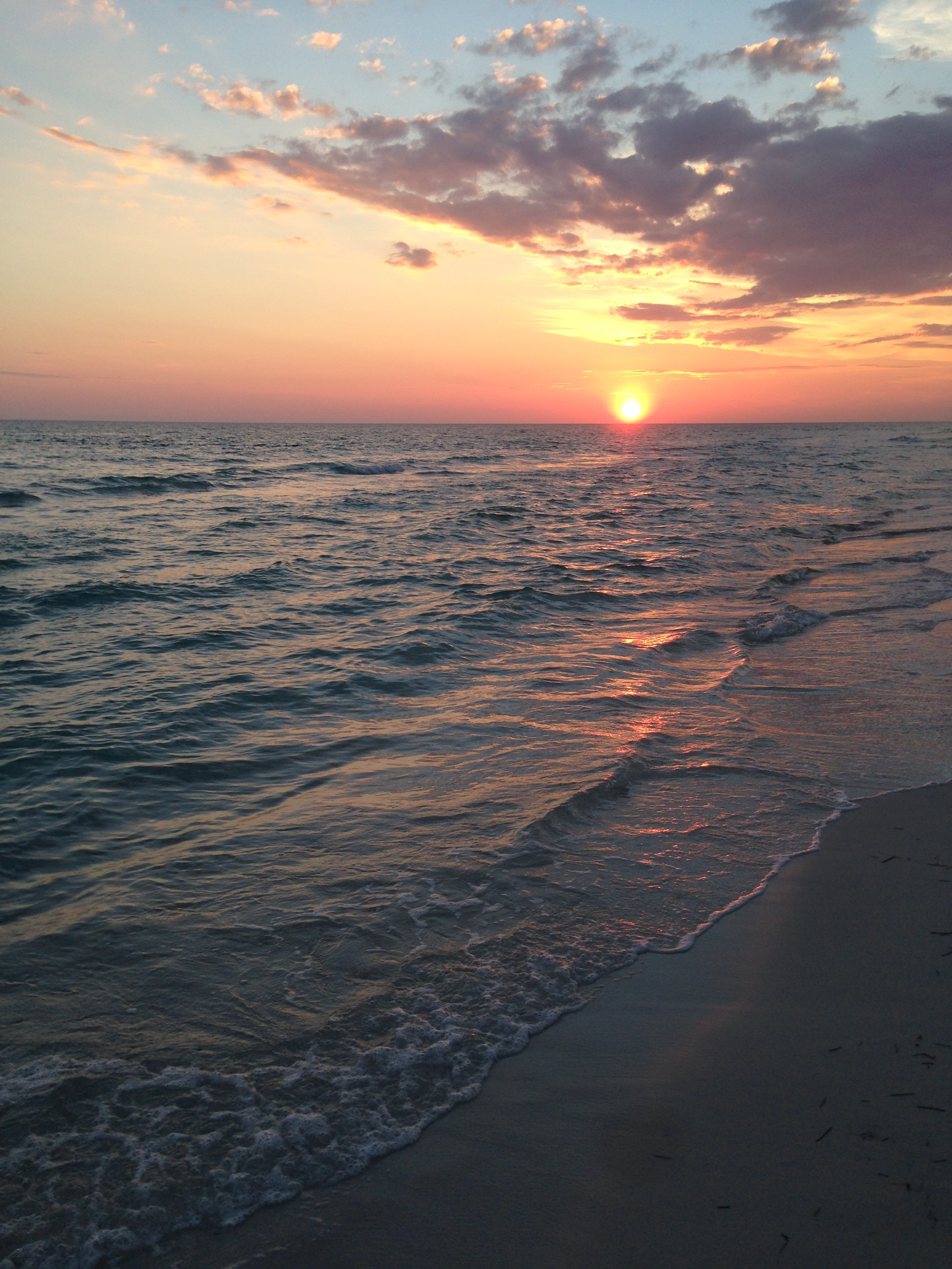 last sunset...