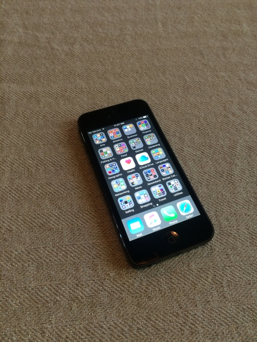 my phone...